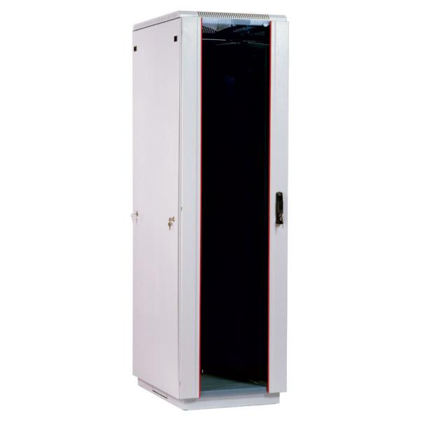 Шкаф телекоммуникационный напольный 42U (800x1000) дверь стеклоШкафы телекоммуникационные напольные серии ШТК-М