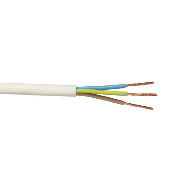 ПВС 5x2.5 кв.мм Провод со скрученными жилами, с ПВХ изоляцией, в ПВХ оболочке